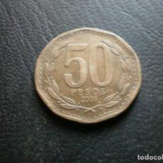 Monedas antiguas de América: CHILE 50 PESOS 2006. Lote 235832035