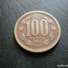 Monedas antiguas de América: CHILE 100 PESOS 1986. Lote 235832380
