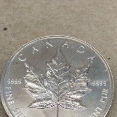 Monedas antiguas de América: MONEDA PLATA 5 DOLLARS 1995 CANADA. Lote 235889725