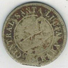 Monedas antiguas de América: CUBA TOKEN FICHA DE TABACO CIBARA SANTA LUCÍA 1 JORNAL 1885 RARA. Lote 235910675
