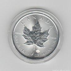 Monedas antiguas de América: CANADA- 1 ONZA-2021- PLATA-PROF. Lote 236739535