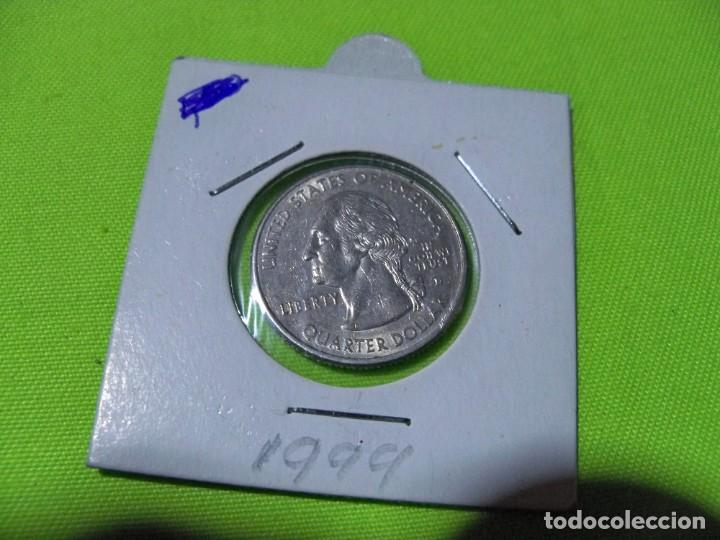 Monedas antiguas de América: QUARTER DOLAR ESTADOS UNIDOS 1999 - Foto 2 - 236843200