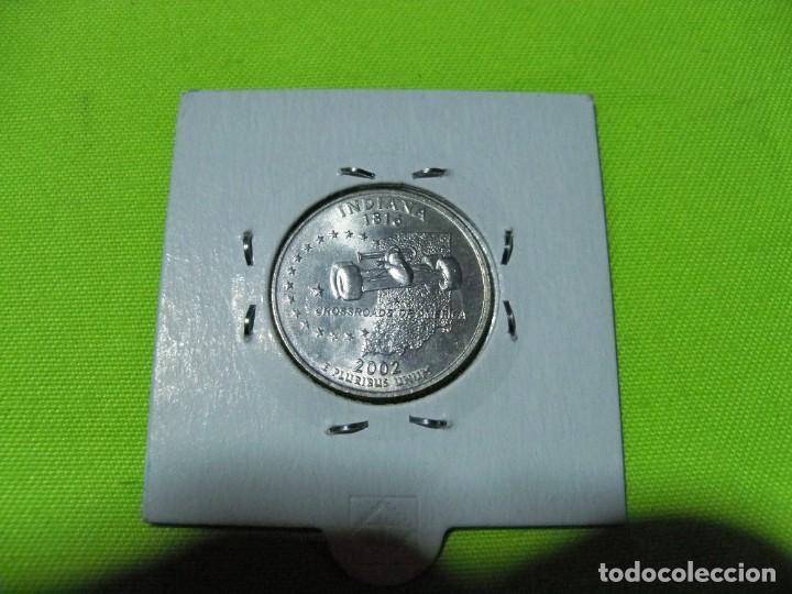 QUARTER DOLAR ESTADOS UNIDOS 2002 (Numismática - Extranjeras - América)