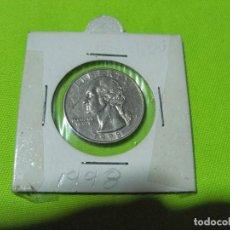 Monedas antiguas de América: QUARTER DOLAR ESTADOS UNIDOS 1998. Lote 236845130