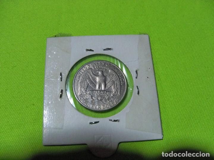 Monedas antiguas de América: QUARTER DOLAR ESTADOS UNIDOS 1998 - Foto 2 - 236845130