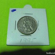 Monedas antiguas de América: QUARTER DOLAR ESTADOS UNIDOS 1995. Lote 236845290