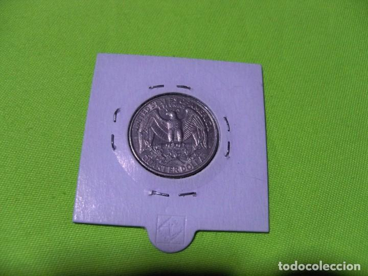 Monedas antiguas de América: QUARTER DOLAR ESTADOS UNIDOS 1995 - Foto 2 - 236845290
