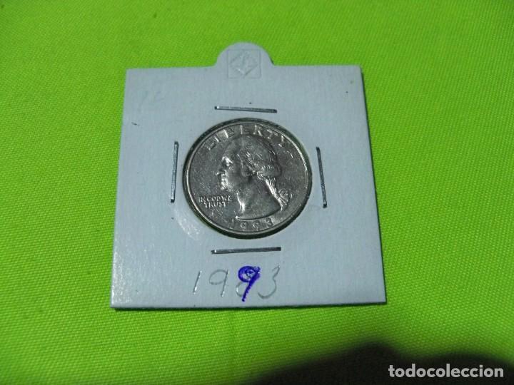 QUARTER DOLAR ESTADOS UNIDOS 1993 (Numismática - Extranjeras - América)