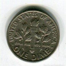 Monedas antiguas de América: ESTADOS UNIDOS ONE DIME AÑO 1993 - P -. Lote 237019460