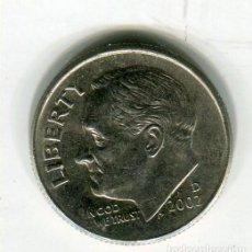 Monedas antiguas de América: ESTADOS UNIDOS ONE DIME AÑO 2002 - D -. Lote 237019740