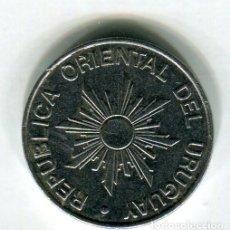 Monedas antiguas de América: REPUBLICA ORIENTAL DE URUGUAY 10 NUEVOS PESOS AÑO 1989 - 1 -. Lote 237021945