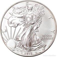 Monedas antiguas de América: MONEDA, ESTADOS UNIDOS, SILVER EAGLE, DOLLAR, 2012, 1 OZ, FDC, PLATA. Lote 237026825