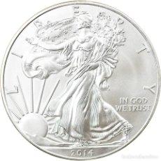 Monedas antiguas de América: MONEDA, ESTADOS UNIDOS, 1 DOLLAR, 2014, U.S. MINT, SC+, PLATA, KM:NEW. Lote 237027145