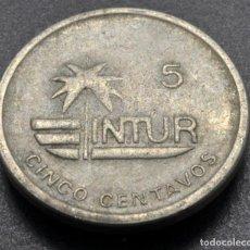 Monedas antiguas de América: CUBA, 5 CENTAVOS 1989. Lote 237027175