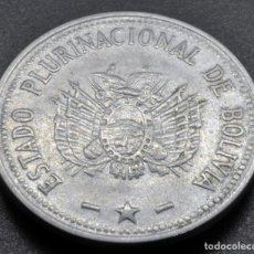 Monedas antiguas de América: BOLIVIA, 50 CENTAVOS 2010. Lote 237027425