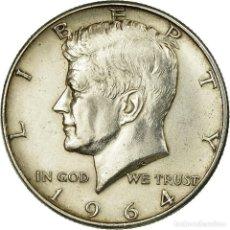 Monedas antiguas de América: MONEDA, ESTADOS UNIDOS, KENNEDY HALF DOLLAR, HALF DOLLAR, 1964, U.S. MINT. Lote 237027650