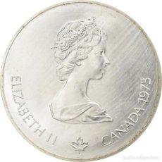 Monedas antiguas de América: MONEDA, CANADÁ, ELIZABETH II, 5 DOLLARS, 1973, ROYAL CANADIAN MINT, OTTAWA, BE. Lote 237027720