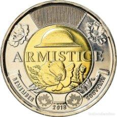 Monedas antiguas de América: MONEDA, CANADÁ, 2 DOLLARS, 2018, ROYAL CANADIAN MINT, ARMISTICE, SC. Lote 237028840