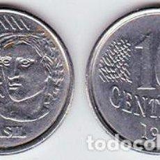 Monedas antiguas de América: BRASIL – 10 CENTAVOS 1994, KM 633, CALIDAD EBC+. Lote 237199440