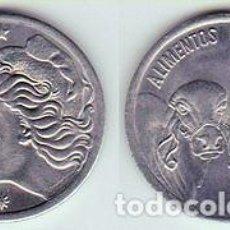 Monedas antiguas de América: BRASIL – 5 CENTAVOS 1977, KM 587.1, CALIDAD EBC. Lote 237199730