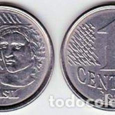 Monedas antiguas de América: BRASIL – 1 CENTAVO 1997, KM 631, CALIDAD EBC+. Lote 237201240