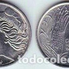 Monedas antiguas de América: BRASIL – 1 CENTAVO 1975, KM 585, CALIDAD EBC+. Lote 237201315