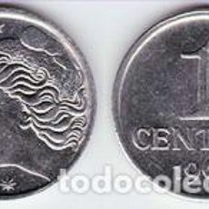 Monedas antiguas de América: BRASIL – 1 CENTAVO 1969, KM 575.2, CALIDAD EBC+. Lote 237201465