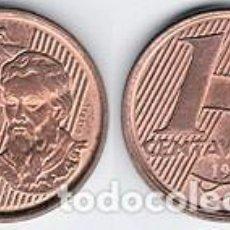 Monedas antiguas de América: BRASIL – 1 CENTAVO 2001, KM 647, CALIDAD MBC. Lote 237201555