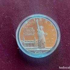 Monete antiche di America: ESTADOS UNIDOS 1986 LIBERTAD PLATA. DOLLAR. ENCAPSULADA. Lote 237527690