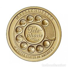 Monedas antiguas de América: USA 1 DÓLAR 2020 – AMERICAN INNOVATION MASSACHUSETTS – CECA D – SC SIN CIRCULAR. Lote 239729735