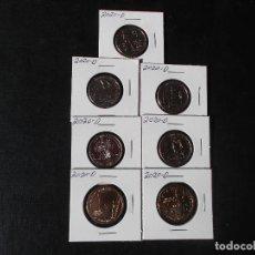 Monedas antiguas de América: CONJUNTO DE 5 MONEDAS DE 25 CENTAVOS Y 2 MONEDAS DE 2 DOLARES 2020 S/C LETRA D. Lote 239815945