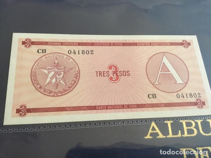 Monedas antiguas de América: CUBA. 3 billetes correlativos 3 pesos(certificados) - Foto 4 - 239831720