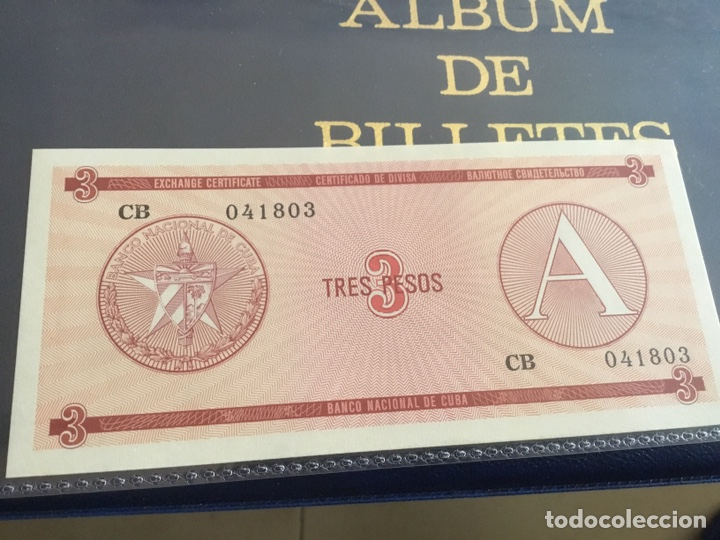 Monedas antiguas de América: CUBA. 3 billetes correlativos 3 pesos(certificados) - Foto 5 - 239831720