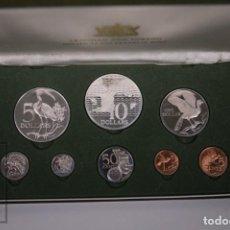 Monedas antiguas de América: ESTUCHE MONEDAS PROOF TRINIDAD & TOBAGO 1975 - DIVERSOS VALORES PLATA - ACUÑADAS FRANKLIN MINT. Lote 241725155
