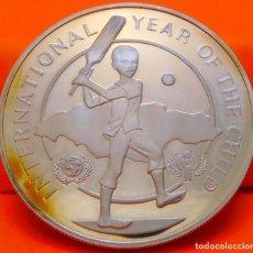 Monedas antiguas de América: JAMAICA, 10 DÓLARES, 1979. PLATA PROOF. (891). Lote 243060425