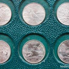 Monedas antiguas de América: LOTE 6 MONEDAS 1/4 DOLAR PRESIDENTE GEORGE WASHINGTON DE 2000 AL 2005 DE LA CECA P. Lote 243253375