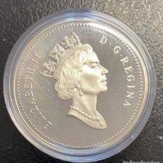 Monedas antiguas de América: CANADÁ, MONEDA DE 1 DÓLAR DEL AÑO 1990. Lote 243532390