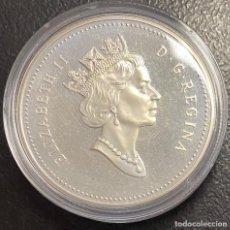 Monedas antiguas de América: CANADÁ, MONEDA DE 1 DÓLAR DEL AÑO 1995. Lote 243532715