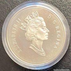 Monedas antiguas de América: CANADÁ, MONEDA DE 1 DÓLAR DEL AÑO 1997. Lote 243532940