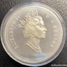 Monedas antiguas de América: CANADÁ, MONEDA DE 1 DÓLAR DEL AÑO 1993. Lote 243533135