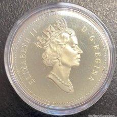 Monedas antiguas de América: CANADÁ, MONEDA DE 1 DÓLAR DEL AÑO 1994. Lote 243533305