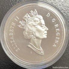 Monedas antiguas de América: CANADÁ, MONEDA DE 1 DÓLAR DEL AÑO 1999. Lote 243536535