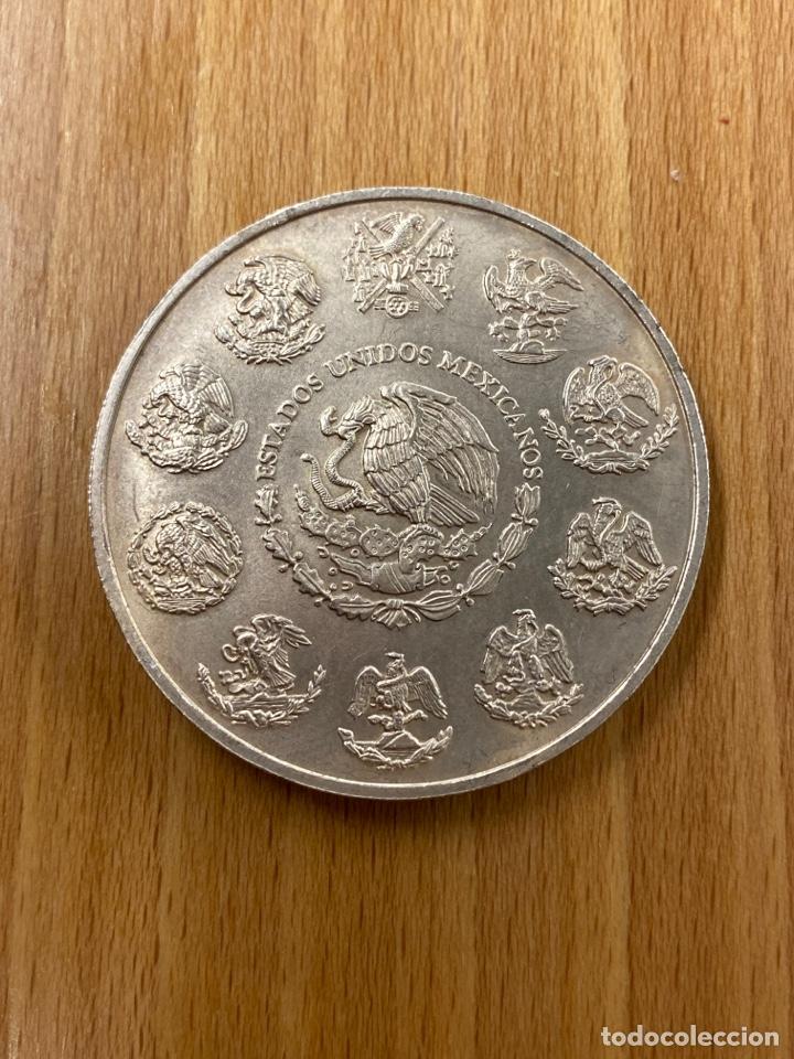 Monedas antiguas de América: Onza de plata pura Mexico año 2000 - Foto 2 - 243587430