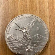 Monedas antiguas de América: ONZA DE PLATA PURA MEXICO AÑO 2000. Lote 243587430