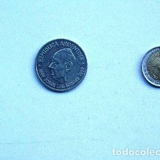 Monedas antiguas de América: MONEDA ARGENTINA DOS PESOS JORGE LUIS BORGES 1899 1999. Lote 244097780