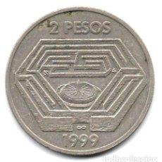 Monedas antiguas de América: MONEDA 100 ANIVERSARIO NACIMIENTO DE JORGE LUIS BORGES. Lote 244318180