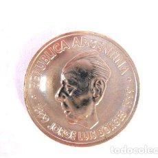 Monedas antiguas de América: MONEDA CONMEMORATIVA 1999 JORGE LUIS BORGES SIN CIRCULAR. Lote 244320375