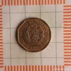 Monete antiche di America: 20 CÉNTIMOS, PERÚ. 2011. (KM#306.4). Lote 244401370