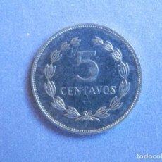 Monedas antiguas de América: EL SALVADOR MONEDA 5 CENTAVOS. AÑO 1981. CONSERVACIÓN: SC LA MONEDA NO HA CIRCULADO. Lote 244642815