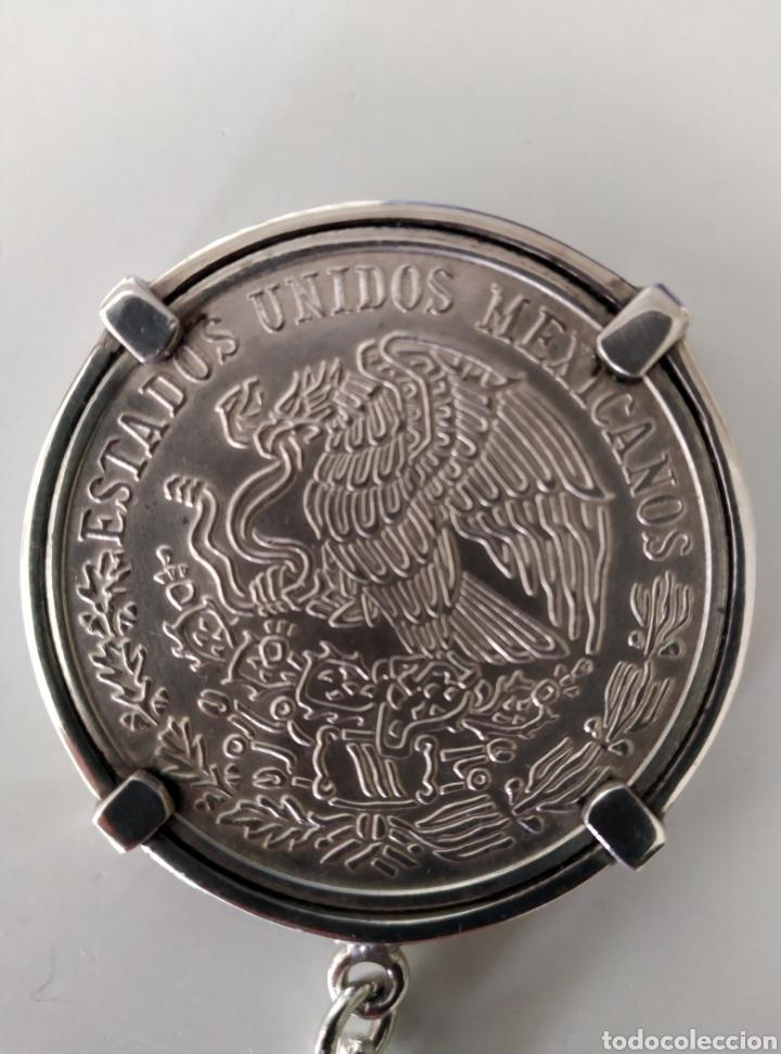 Monedas antiguas de América: Llavero moneda de plata 100 pesos mexicanos (1978) - Foto 3 - 244865950